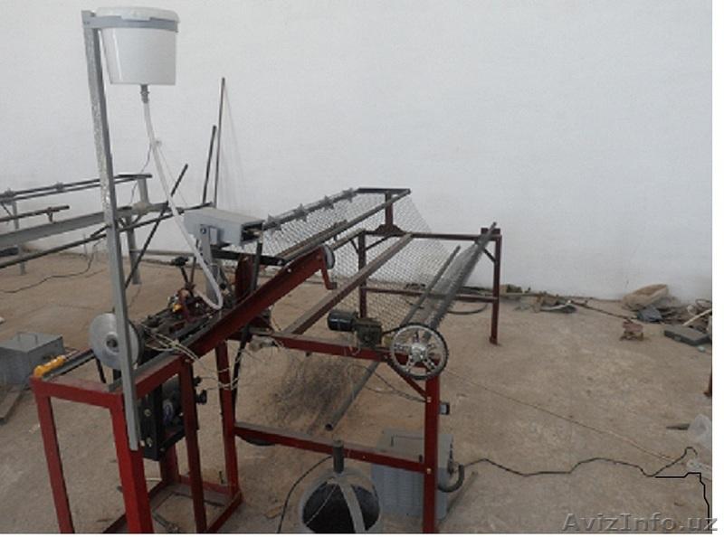 Продам станок автомат для плетения сетки Рабица по перечислению, Объявление #1509479